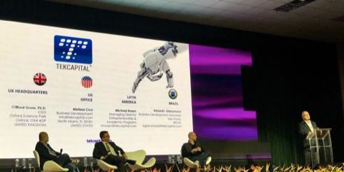 Presenting #TEK at the 2019 Brazil Innovation Summit