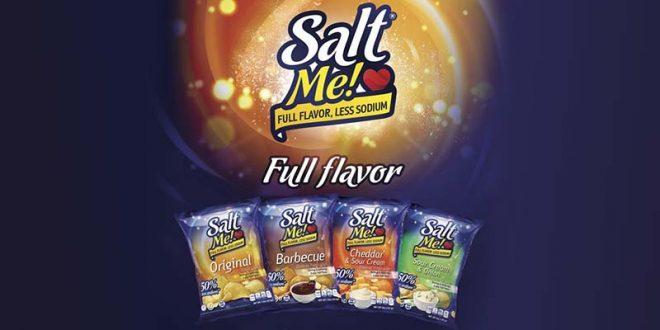 Salarius SaltMe! Crisps are Debuting in 71 Stores